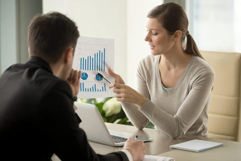 Investidores analisam seus resultados financeiros