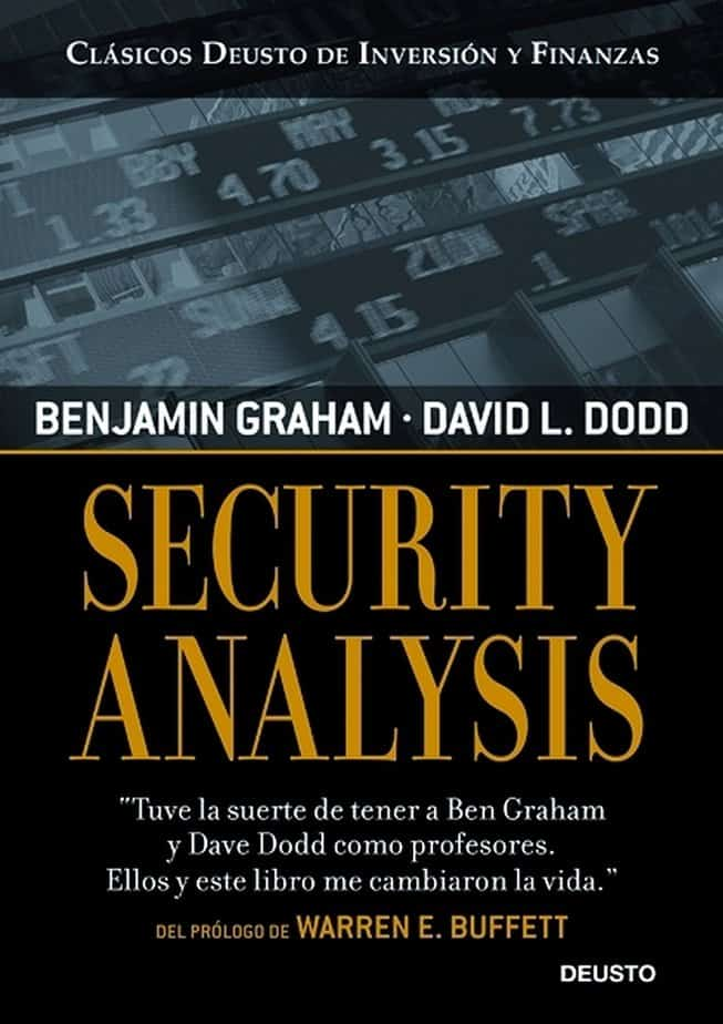 Livros de análise fundamentalista: Security Analysis, de Benjamin Graham e David Dodd
